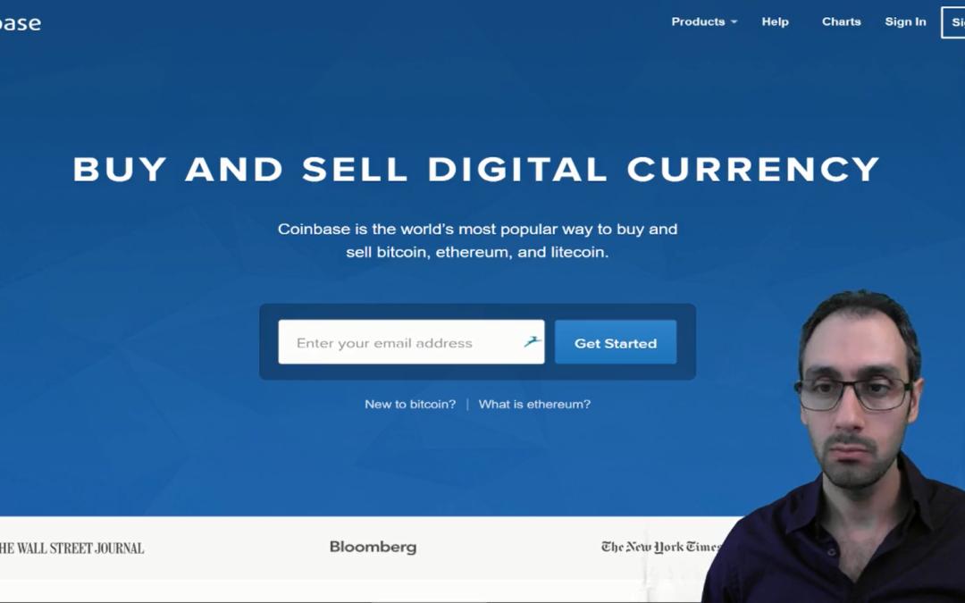 فتح حساب في كوينبيس لتشتري عملة رقمية CoinBase.com